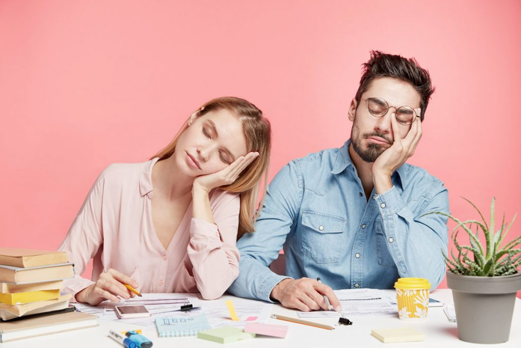 sleep deprived parents